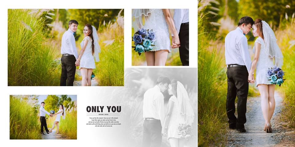 Thiết kế album ảnh cưới đẹp