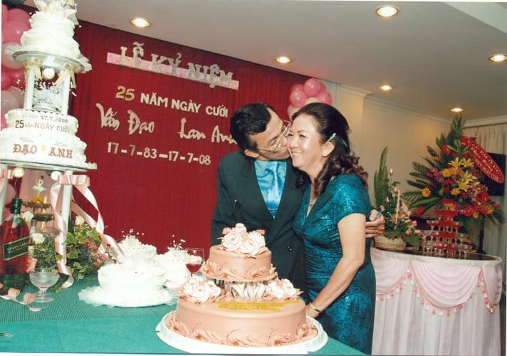 quay phim kỷ niệm ngày cưới