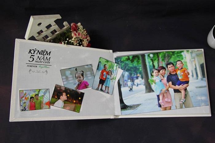 thiết kế album ảnh gia đình