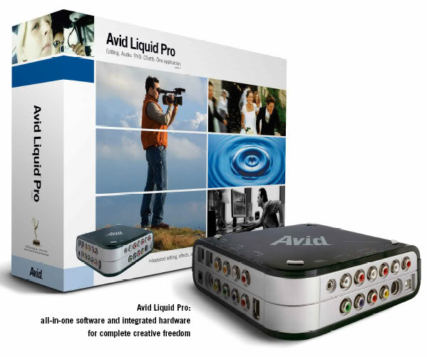 Biên tập phim mạnh mẽ với Avid Liquid 7.2.1 VM (2009/ENG/RUS)